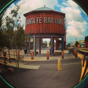 Pop Up Poetry Reading @ Railyard Water Tower | Santa Fe | New Mexico | United States