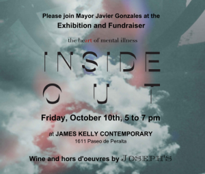 """Inside Out"" Fundraiser & Exhibition  @ James Kelly Contemporary 