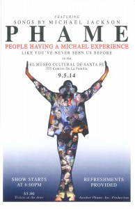 """PHAME: People Having a Michael Jackson Experience"" Showing @ El Museo Cultural 