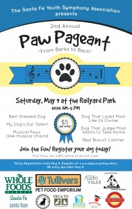 2nd Annual Paw Pageant: From Barks to Bach @ Railyard Park | Santa Fe | New Mexico | United States