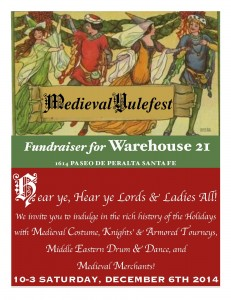 Medieval Holly Day (A Fundraiser for Warehouse 21) @ Warehouse 21 | Santa Fe | New Mexico | United States