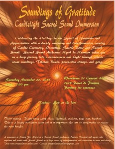 Blessing of Ceremony, Intention, Sacred Voice and Sacred Sound @ Warehouse 21 | Santa Fe | New Mexico | United States
