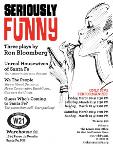 "The Best of Ron Bloomberg presents ""Seriously Funny"" @ Warehouse 21 