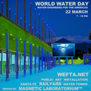 World Water Day @ Railyard Water Tower | Santa Fe | New Mexico | United States