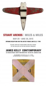 "Stuart Arends: ""Miles & Miles"" Opening Reception @ James Kelly Contemporary 