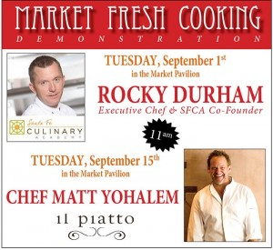 Farmers Market Fresh Cooking Demonstration with Rocky Durham @ Farmers Market Pavilion | Santa Fe | New Mexico | United States