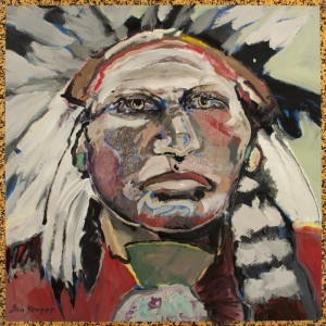 """""""Beyond the Reservation"""" Poetry by Toby Hilliard & Paintings by Ira Yeager @ LewAllen Galleries  