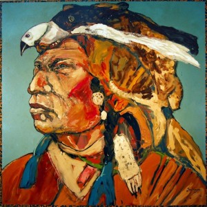 """Artist Reception: Ira Yeager """"Portraits of Nobility"""" @ LewAllen Galleries  