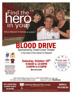 Blood Drive: Find the hero in you! @ Santa Fe | New Mexico | United States