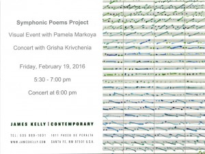 SYMPHONIC POEMS PROJECT @ James Kelly Contemporary | Santa Fe | New Mexico | United States