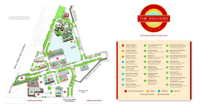 Baca Railyard Map