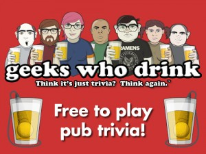 GEEKS WHO DRINK @ Second Street Brewery @ The Railyard | Santa Fe | New Mexico | United States