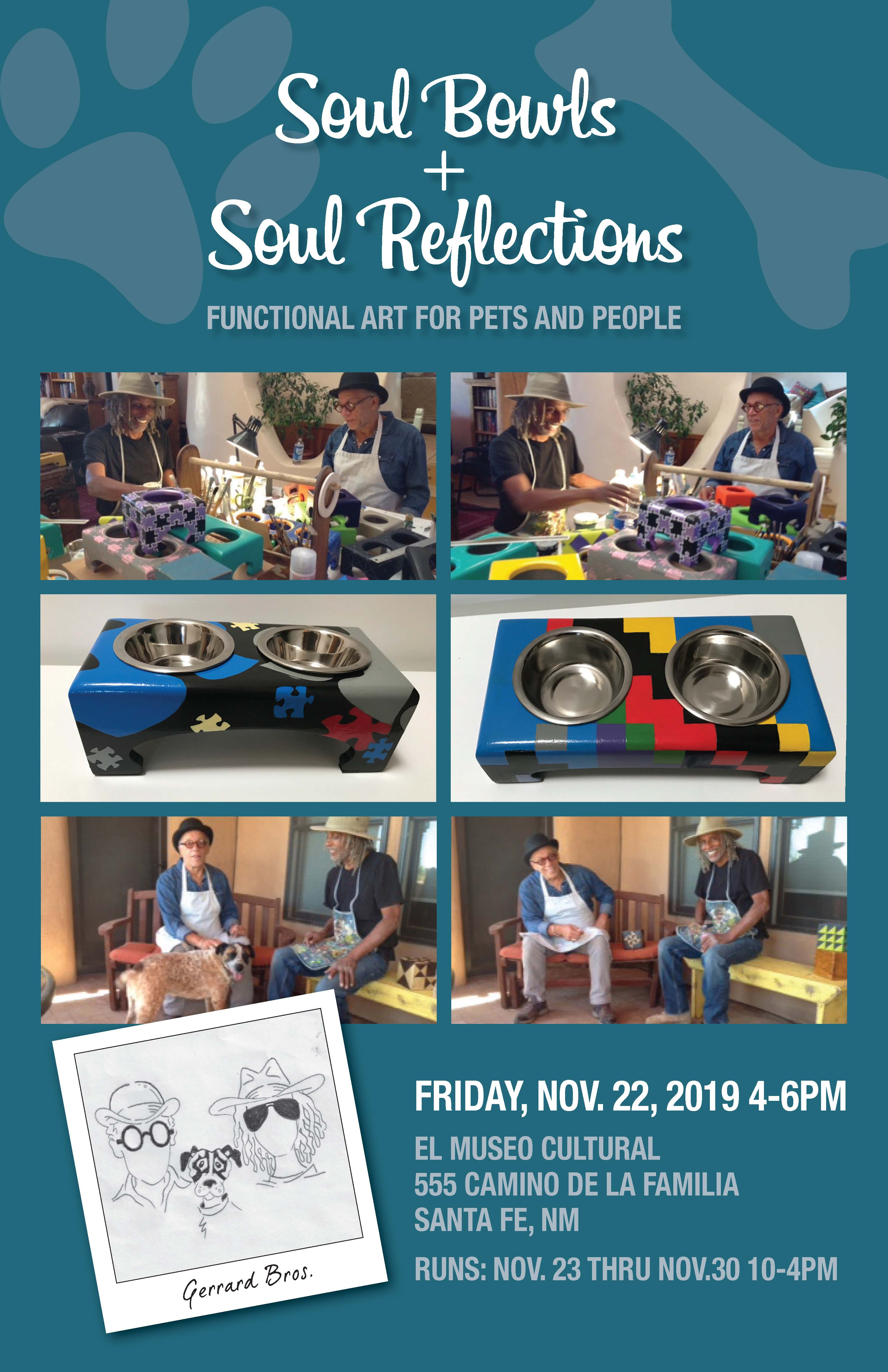 SOUL BOWLS AND SOUL REFLECTIONS: FUNCTIONAL ART FOR PETS AND PEOPLE @ El Museo Cultural de Santa Fe | Santa Fe | New Mexico | United States