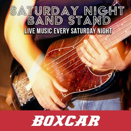 SATURDAY NIGHT BANDSTAND @ Boxcar | Santa Fe | New Mexico | United States