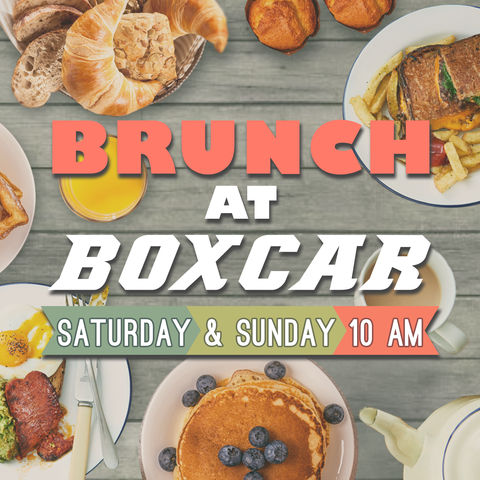 BRUNCH AT BOXCAR! @ Boxcar | Santa Fe | New Mexico | United States