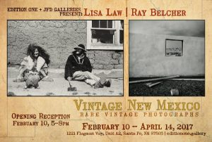 VINTAGE NEW MEXICO: Lisa Law & Ray Belcher @ Justin's Frame Designs | Santa Fe | New Mexico | United States