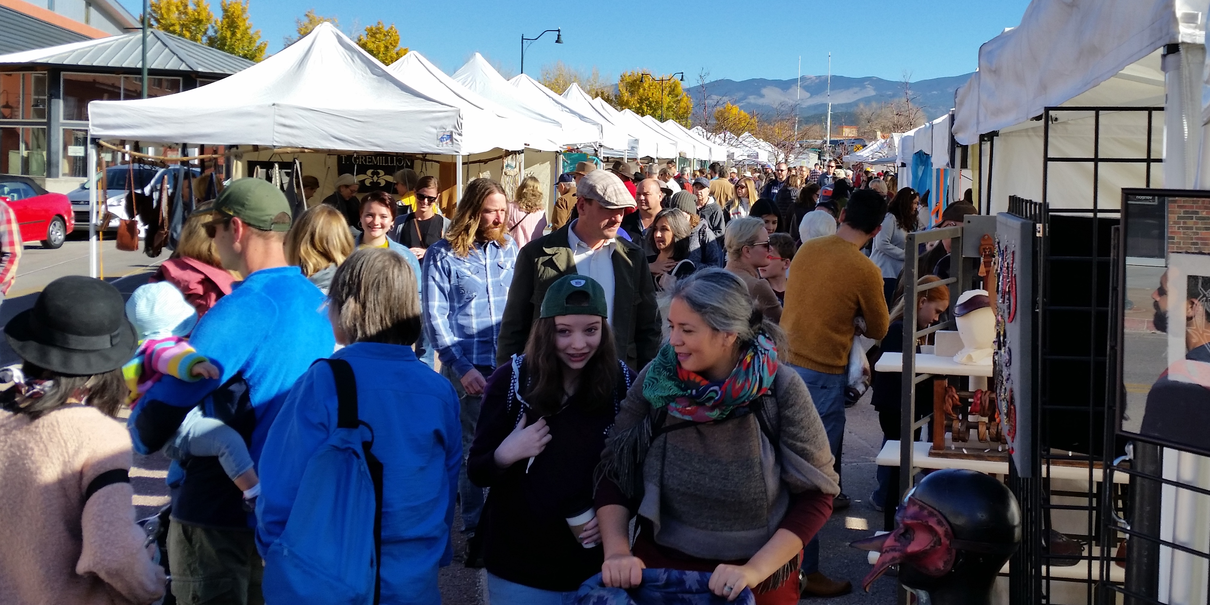 SANTA FE ARTISTS MARKET @ Railyard Plaza (Just north of the Water Tower) | Santa Fe | New Mexico | United States