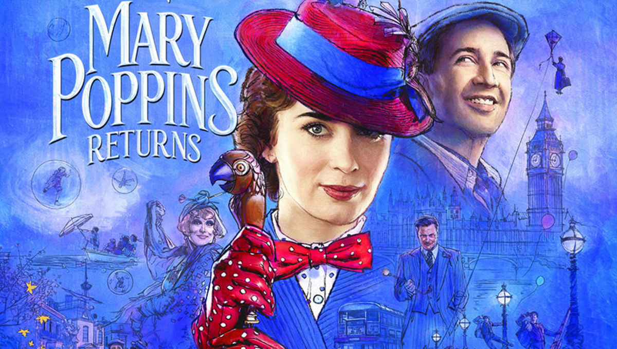 "SUMMER MOVIE SERIES/""Mary Poppins Returns"" @ Railyard Park 