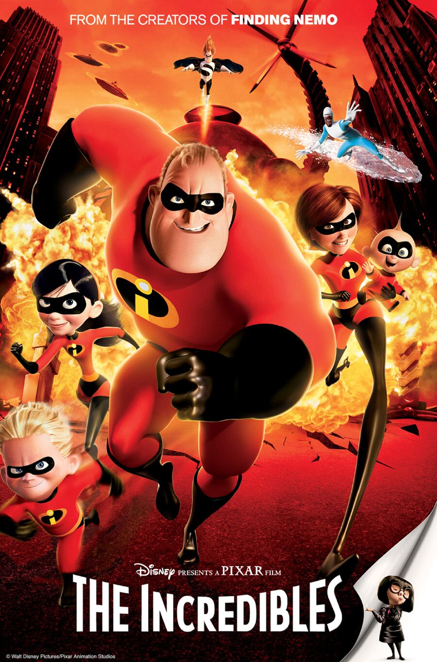 "SUMMER MOVIE SERIES/""The Incredibles"" @ Railyard Park 