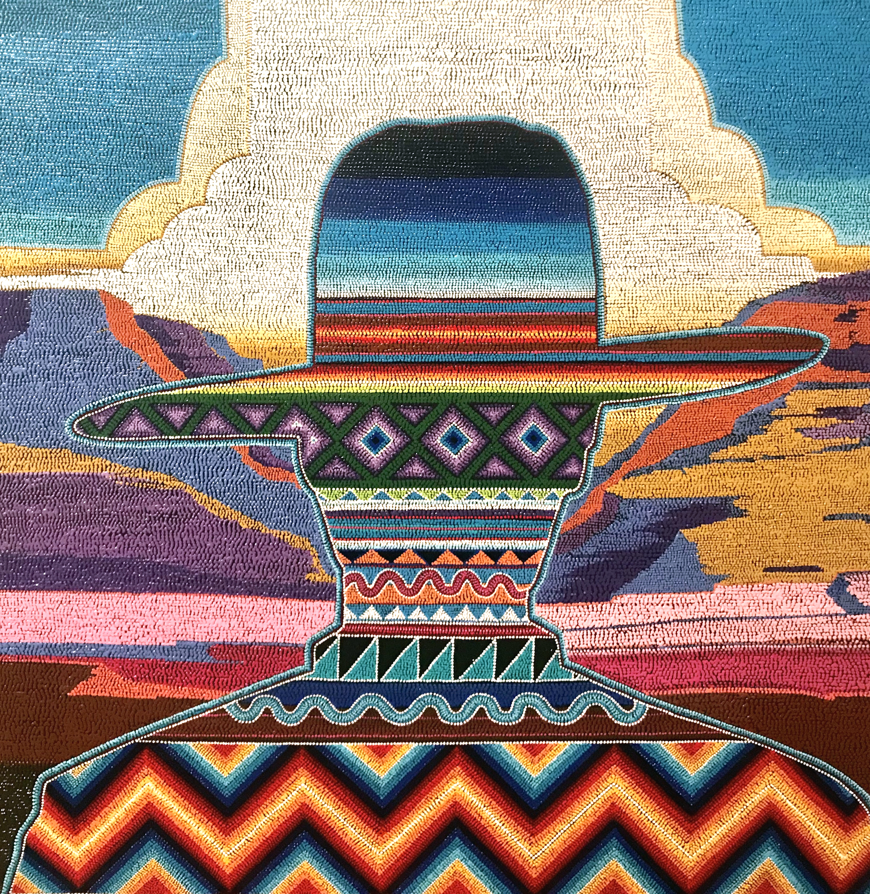 INDIGENOUS VISIONARIES: NEW WORKS BY CHRIS PAPPAN AND STARR HARDRIDGE @ Blue Rain Gallery | Santa Fe | New Mexico | United States