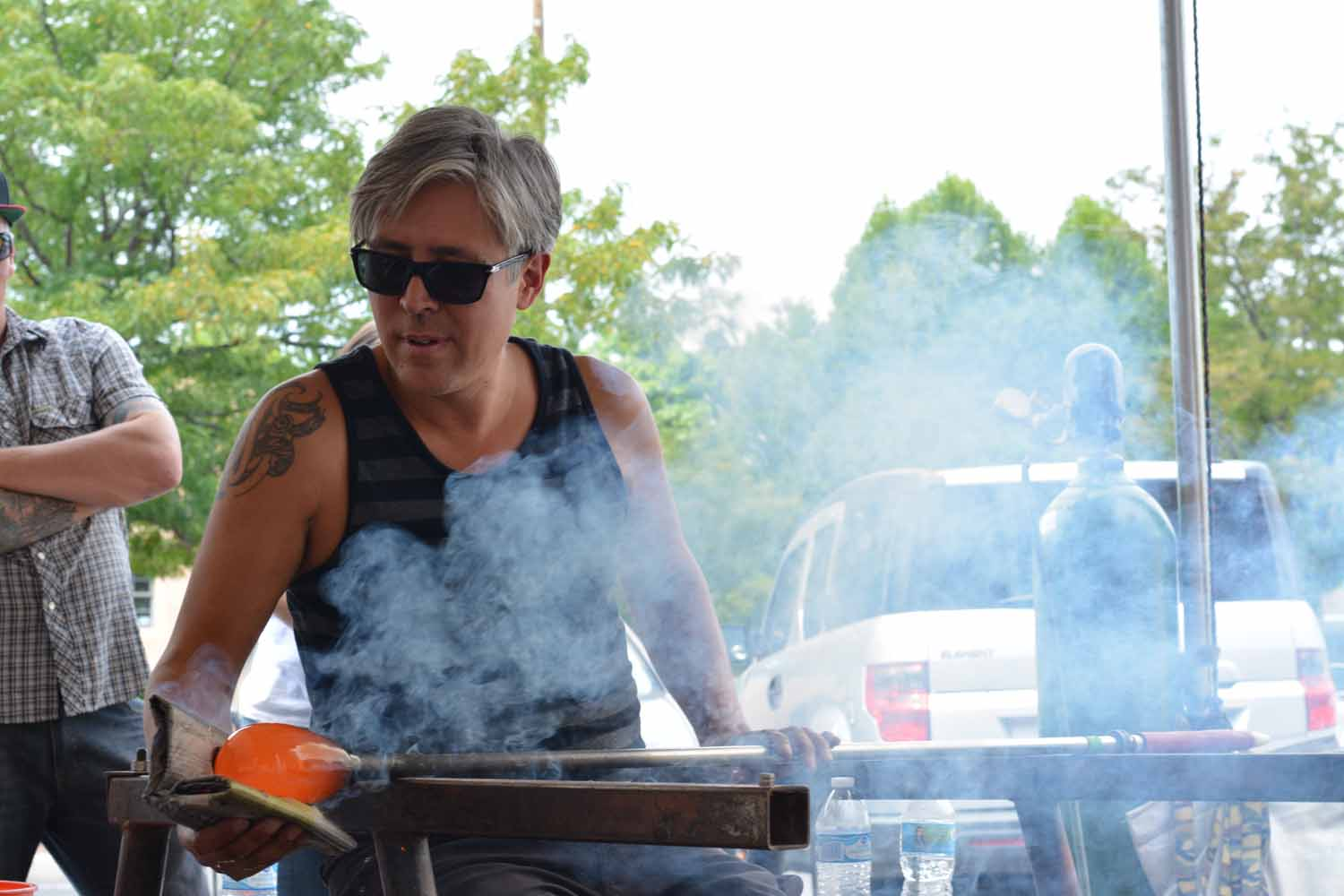 GLASS BLOWING DEMONSTRATIONS WITH DAN FRIDAY AND PRESTON SINGLETARY @ Blue Rain Gallery | Santa Fe | New Mexico | United States