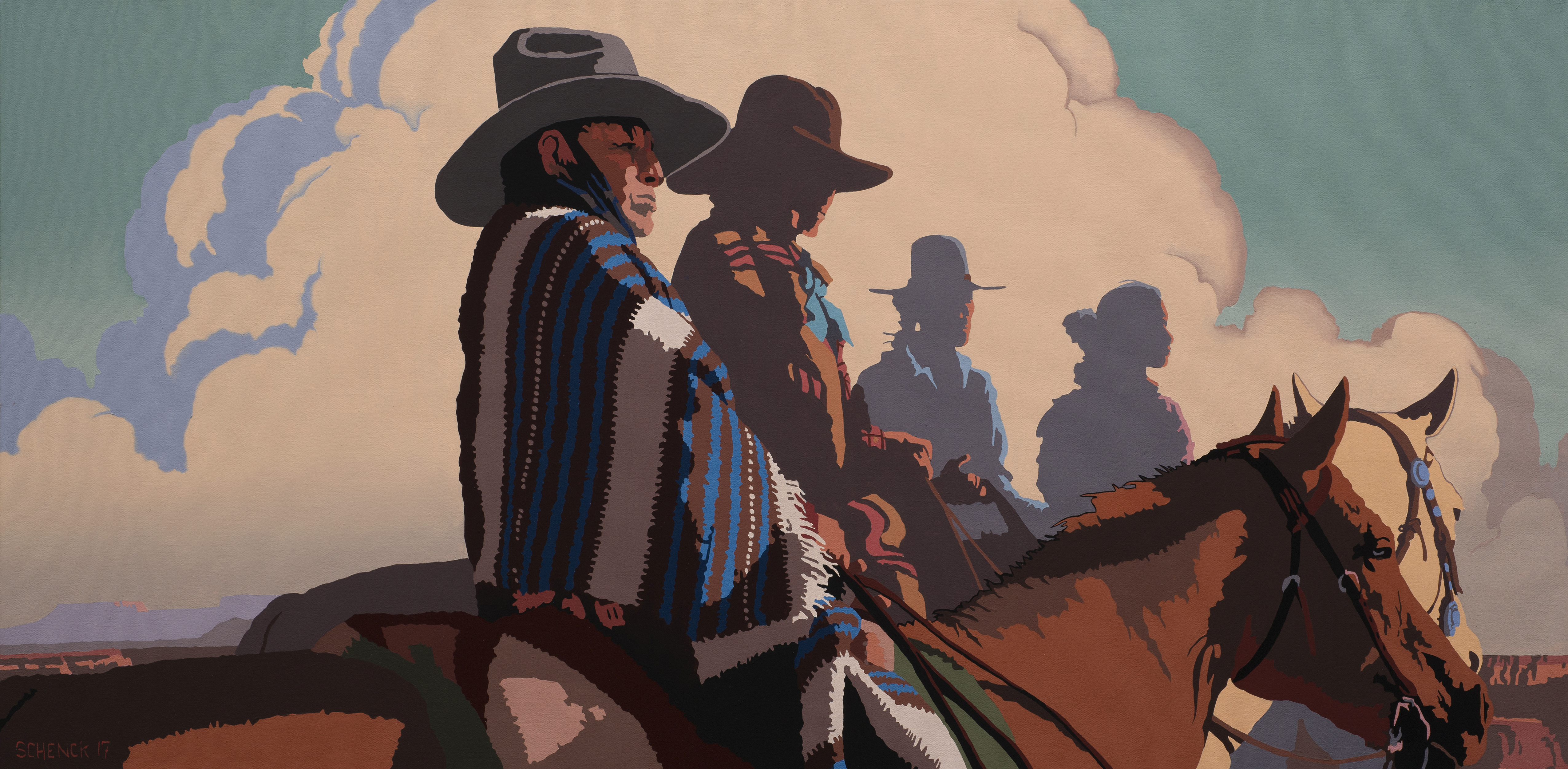 """NATHAN BENNETT: """"NEW PATINA PAINTINGS"""" OPENING RECEPTION @ Blue Rain Gallery 