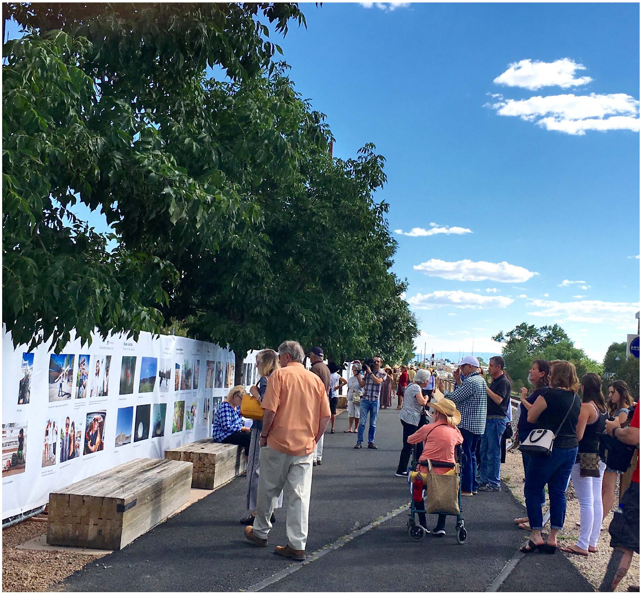 """THE FENCE"" OPENING CELEBRATION @ Railyard Park Community Room @ The Railyard Park 