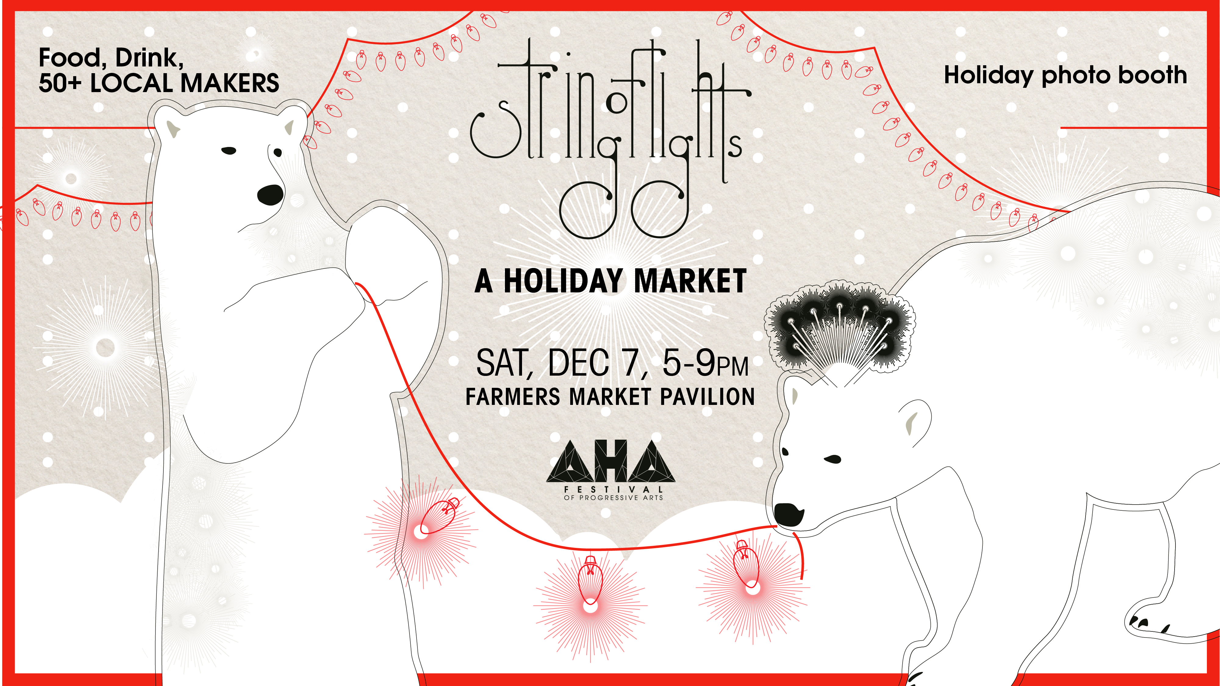 STRING OF LIGHTS: A HOLIDAY MARKET @ Farmers Market Pavilion | Santa Fe | New Mexico | United States