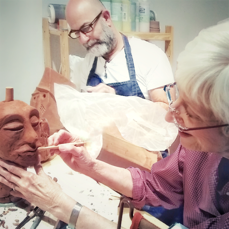 SANTA FE CLAY WORKSHOP: SCULPTING THE HEAD WITH ARLENE SIEGEL @ Santa Fe Clay | Santa Fe | New Mexico | United States