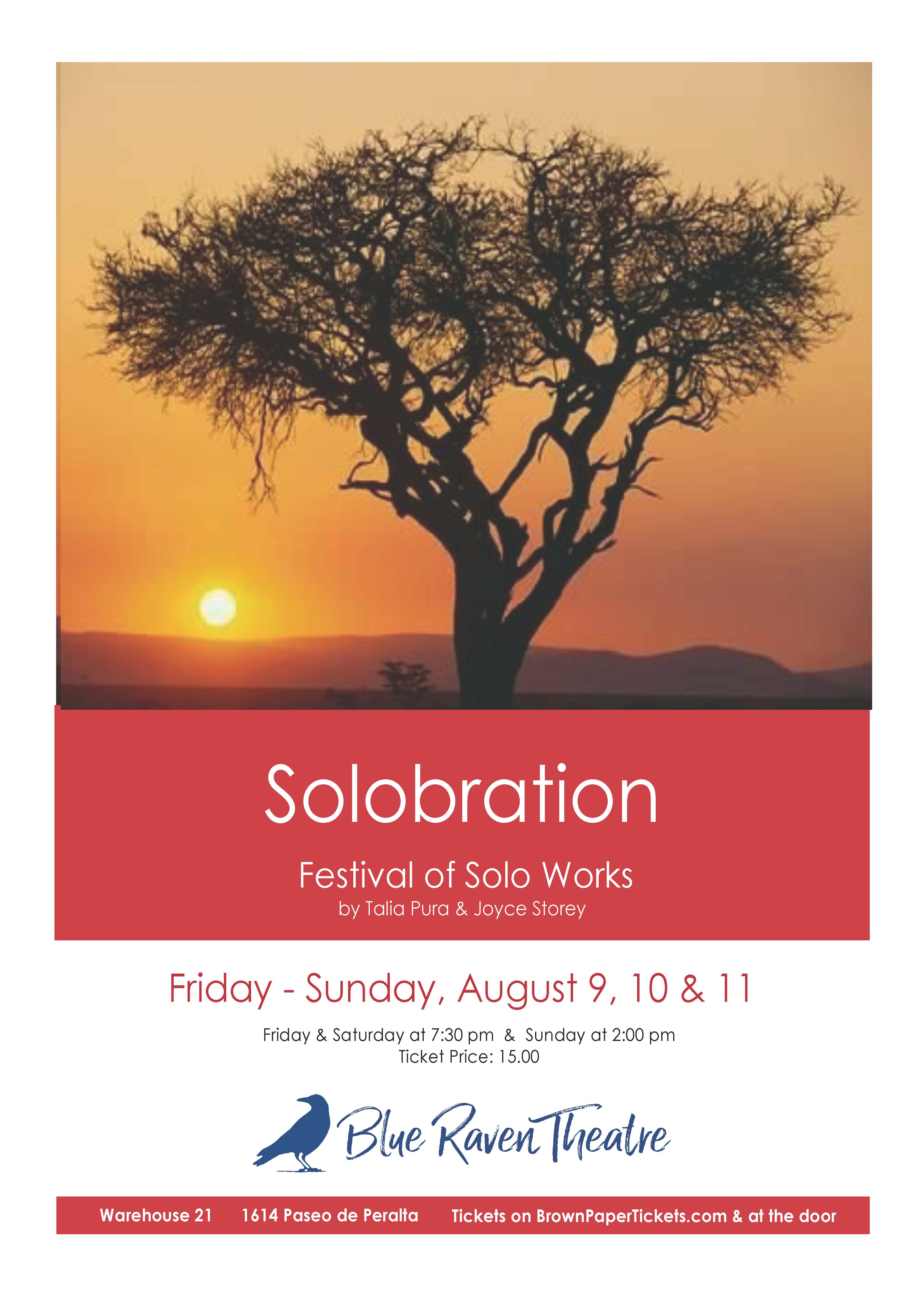 SOLOBRATION: A FESTIVAL OF NEW WORKS @ Warehouse 21 | Santa Fe | New Mexico | United States