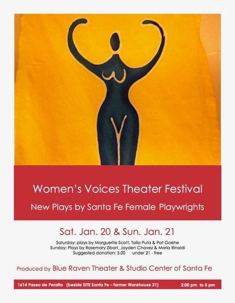 WOMEN'S VOICES THEATER FESTIVAL @ Studio Center of Santa Fe | Santa Fe | New Mexico | United States