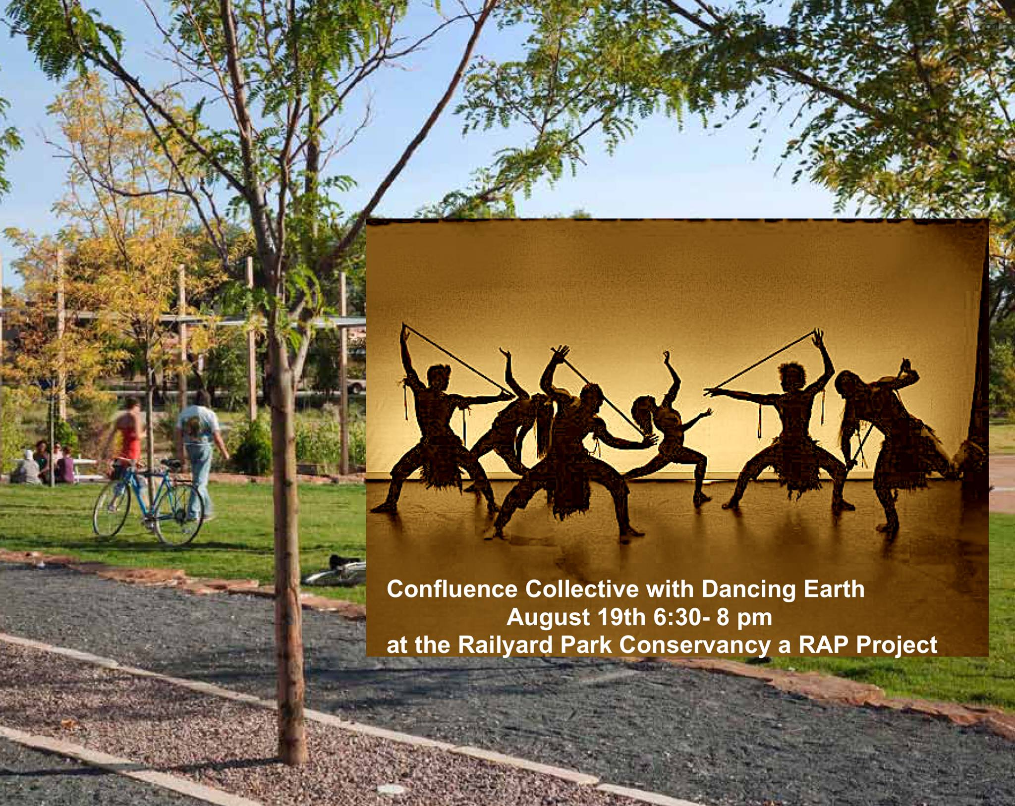 DANCING EARTH AND FRIENDS : FREE PERFORMANCE @ Railyard Park | Santa Fe | New Mexico | United States