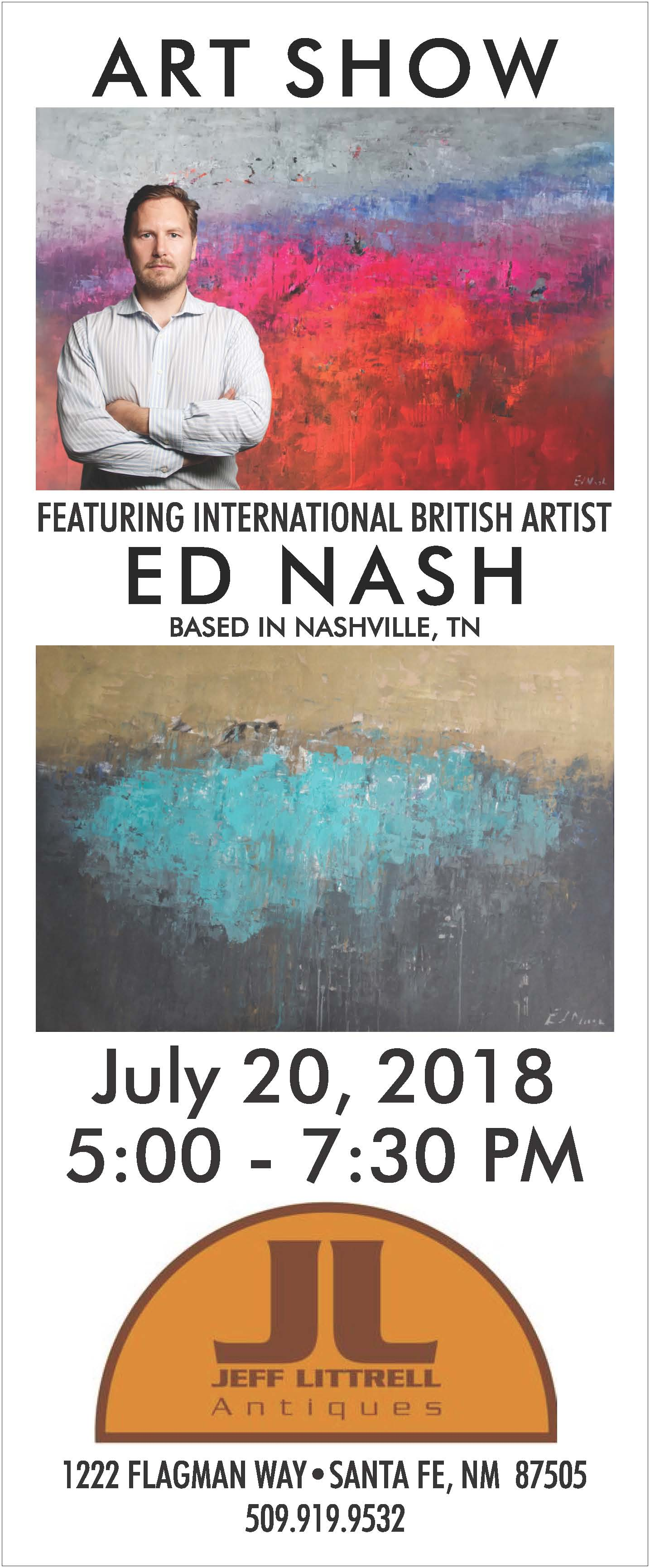 ED NASH ART SHOW @ Jeff Littrell Antiques | Santa Fe | New Mexico | United States