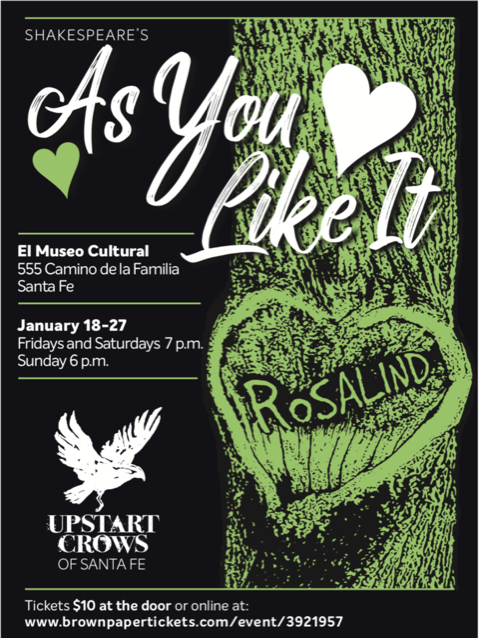 AS YOU LIKE IT @ El Museo Cultural de Santa Fe | Santa Fe | New Mexico | United States