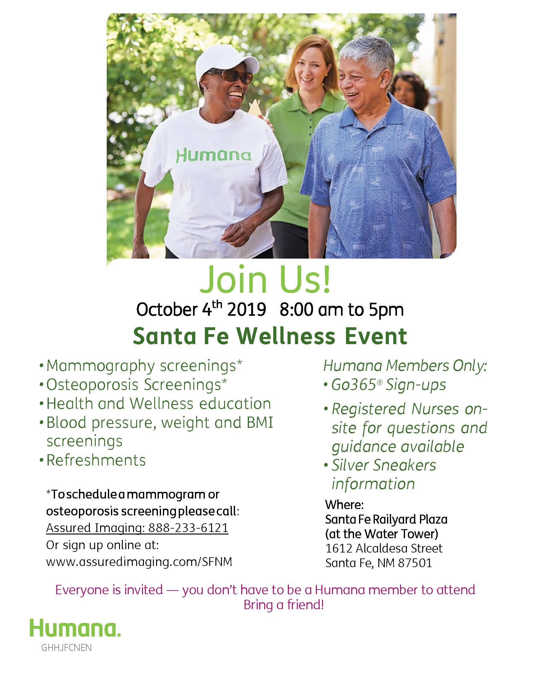 SANTA FE WELLNESS FAIR @ Railyard Plaza | Santa Fe | New Mexico | United States