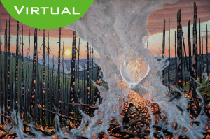 Virtual Visit of Michael Scott's Fire and Ice @ EVOKE Contemporary